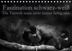 Faszination schwarz-weiß – Die Tierwelt muss nicht immer farbig sein (Tischkalender 2020 DIN A5 quer) von Swierczyna,  Eleonore