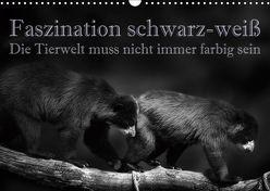 Faszination schwarz-weiß – Die Tierwelt muss nicht immer farbig sein (Wandkalender 2019 DIN A3 quer) von Swierczyna,  Eleonore
