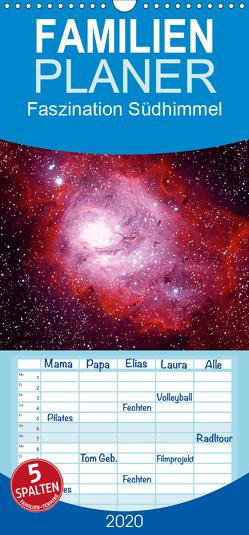 Faszination Südhimmel – Familienplaner hoch (Wandkalender 2020 , 21 cm x 45 cm, hoch) von Bodenmüller,  Wolfgang
