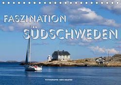 Faszination Südschweden 2019 (Tischkalender 2019 DIN A5 quer) von Haafke,  Udo