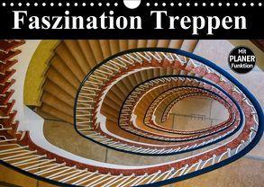 Faszination Treppen (Wandkalender 2018 DIN A4 quer) von Buchspies,  Carina