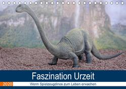 Faszination Urzeit – wenn Spielzeugdinos zum Leben erwachen (Tischkalender 2020 DIN A5 quer) von Bartruff,  Thomas