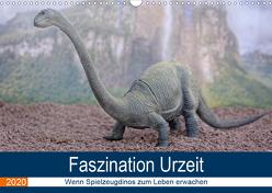 Faszination Urzeit – wenn Spielzeugdinos zum Leben erwachen (Wandkalender 2020 DIN A3 quer) von Bartruff,  Thomas
