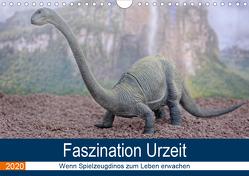 Faszination Urzeit – wenn Spielzeugdinos zum Leben erwachen (Wandkalender 2020 DIN A4 quer) von Bartruff,  Thomas