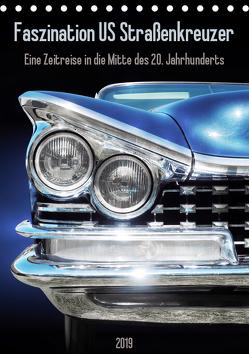 Faszination US Straßenkreuzer – Eine Zeitreise in die Mitte des 20. Jahrhunderts (Tischkalender 2019 DIN A5 hoch) von Gube,  Beate