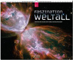 Faszination Weltall – Spektakuläre Bilder vom Hubble-Weltraumteleskop von Hubble-Weltraumteleskop NASA und ESA,  Redaktion Verlagshaus Würzburg
