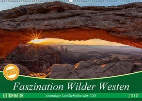 Faszination Wilder Westen (Wandkalender 2018 DIN A2 quer) von Leitz,  Patrick