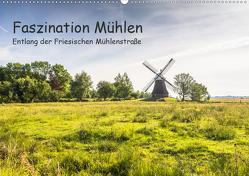 Faszination Windmühlen – Entlang der Ostfriesischen Mühlenstraße (Wandkalender 2020 DIN A2 quer) von Pokorny,  Conny