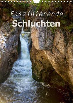 Faszinierende Schluchten (Wandkalender 2018 DIN A4 hoch) von Brunner-Klaus,  Liselotte
