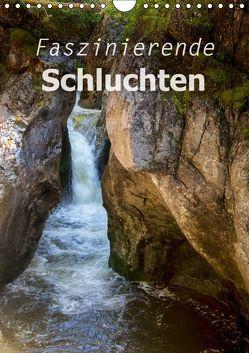 Faszinierende Schluchten (Wandkalender 2019 DIN A4 hoch) von Brunner-Klaus,  Liselotte