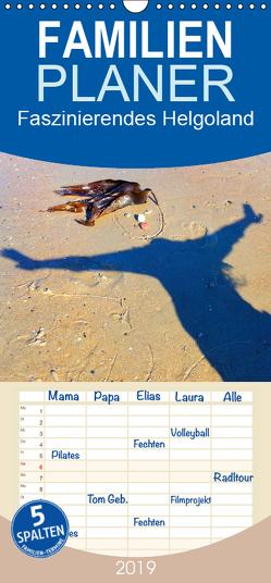 Faszinierendes Helgoland – Familienplaner hoch (Wandkalender 2019 , 21 cm x 45 cm, hoch) von Raab,  Karsten-Thilo