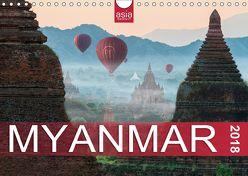 FASZINIERENDES MYANMAR (Wandkalender 2018 DIN A4 quer) von INSIGHT,  asia