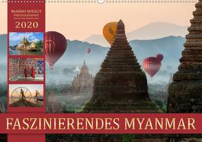 FASZINIERENDES MYANMAR (Wandkalender 2020 DIN A2 quer) von Weigt Photography,  Mario