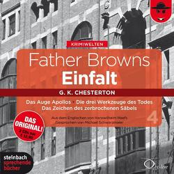 Father Browns Einfalt Vol. 4 von Chesterton,  Gilbert Keith, Haefs,  Hanswilhelm, Schwarzmaier,  Michael, Vester,  Claus