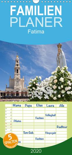 Fatima – Familienplaner hoch (Wandkalender 2020 , 21 cm x 45 cm, hoch) von Atlantismedia