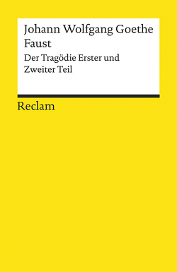 Faust von Goethe,  Johann Wolfgang