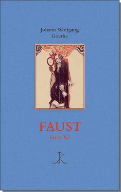 Faust von Goethe,  Johann Wolfgang von, Greiner,  Bernhard