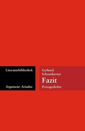 Fazit von Schoenberner,  Gerhard