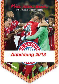FC Bayern München 2019 Mini-Bannerkalender
