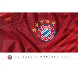 FC Bayern München 2022 Wand-Kalender – Fußball-Kalender – Fan-Kalender – 60×50 – Sport