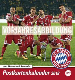 FC Bayern München Sammelkartenkalender – Kalender 2019 von Heye