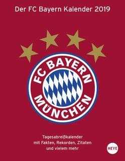 FC Bayern München Tagesabreißkalender – Kalender 2019 von Heye