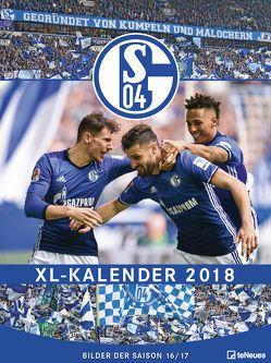FC Schalke 2018 Posterkalender