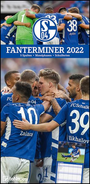 FC Schalke 04 2022 – Fanterminer – Fan-Kalender – Fußball-Kalender – 22×45