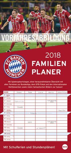 FCB Familienplaner – Kalender 2019 von Heye