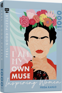 Feel-good-Puzzle 1000 Teile –INSPIRING WOMEN: Frida Kahlo