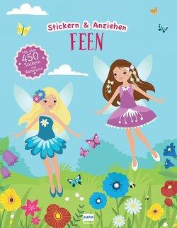 Feen (Anziehpuppen, Anziehpuppen-Sticker) von Eisendle,  Carmen