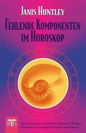 Fehlende Komponenten im Horoskop von Huntley,  Janis