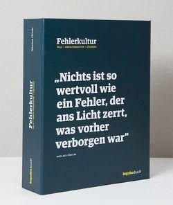 Fehlerkultur von Förster,  Nikolaus