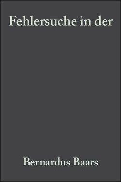 Fehlersuche in der Gaschromatographie von Baars,  Bernardus, Schaller,  Hansgeorg