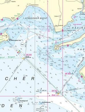Fehmarnbelt bis Sund von Bundesamt für Seeschifffahrt und Hydrographie