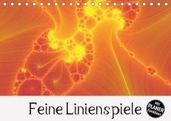 Feine Linienspiele (Tischkalender 2018 DIN A5 quer) von Sattler,  Heidemarie