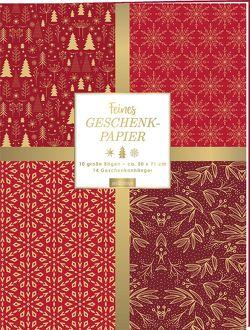 Feines Geschenkpapier zu Weihnachten