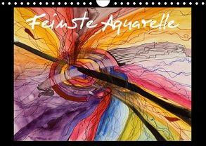 Feinste Aquarelle (Wandkalender 2018 DIN A4 quer) von Dämmrich,  Ricarda