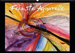 Feinste Aquarelle (Wandkalender 2019 DIN A2 quer) von Dämmrich,  Ricarda