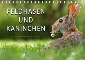 Feldhasen und Kaninchen (Tischkalender 2018 DIN A5 quer) von Roder,  Peter
