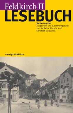 FELDKIRCH LESEBUCH II von Volaucnik,  Christoph
