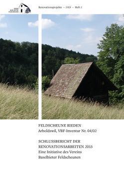 FELDSCHEUNE RIEDEN Arboldswil, VBF-Inventar Nr. 04/02