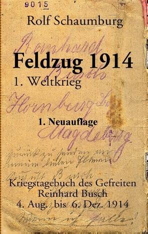 Feldzug 1914 von Schaumburg,  Rolf