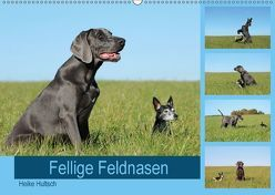 Fellige Feldnasen (Wandkalender 2018 DIN A2 quer) von Hultsch,  Heike