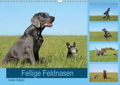 Fellige Feldnasen (Wandkalender 2018 DIN A3 quer) von Hultsch,  Heike