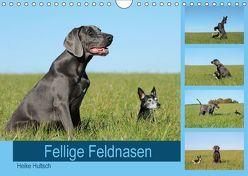 Fellige Feldnasen (Wandkalender 2018 DIN A4 quer) von Hultsch,  Heike