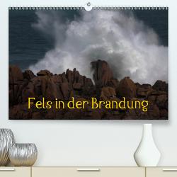 Fels in der Brandung (Premium, hochwertiger DIN A2 Wandkalender 2020, Kunstdruck in Hochglanz) von Essbach,  Günther