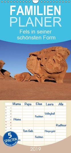 Fels in seiner schönsten Form – Familienplaner hoch (Wandkalender 2019 , 21 cm x 45 cm, hoch) von und Yvonne Herzog,  Michael