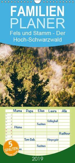 Fels und Stamm – Der Hochschwarzwald in Bildern – Familienplaner hoch (Wandkalender 2019 , 21 cm x 45 cm, hoch) von Trefoil,  Simeon