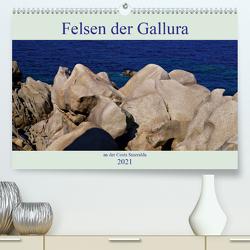 Felsen der Gallura an der Costa Smeralda (Premium, hochwertiger DIN A2 Wandkalender 2021, Kunstdruck in Hochglanz) von Schimon,  Claudia
